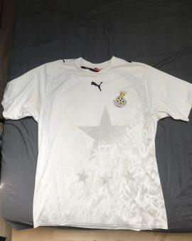 Maillot Ghana Coupe du Monde 2006 Domicile Taille XL Puma