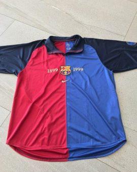 Maillot FC Barcelone année du centenaire floqué Luis Enrique
