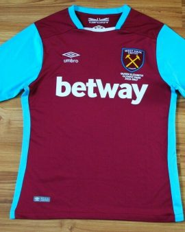West Ham United 2016-2017 – Taille S