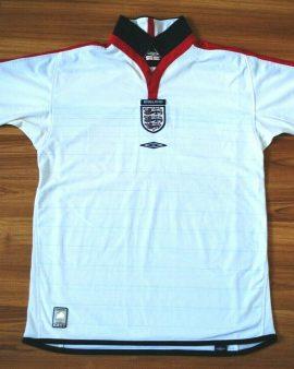 Angleterre / England Équipe Nationale 2003-2005 – Double face réversible – Taille M