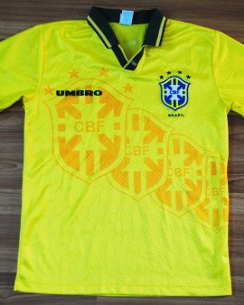 Brasil Équipe Nationale 1994-1995 UMBRO Domicile Taille S