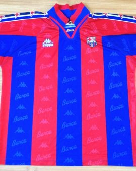 FC Barcelone 1995/1996/1997 Home – Taille XL