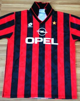 AC MILAN ITALY 1994/1995 HOME – Taille L