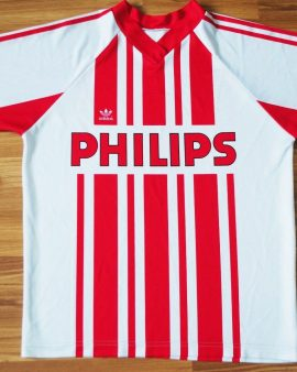 PSV Eindhoven Home Football Shirt 1989-1990 Jersey #8 – Taille M