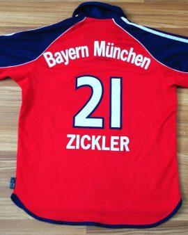 Bayern Munich Home – 1999 2000 2001 – Véritable Taille XS