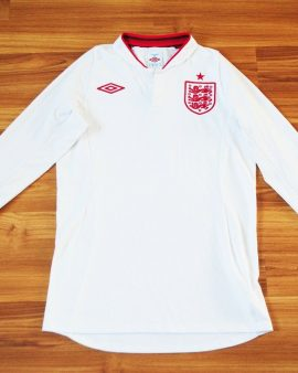 Angleterre 2012 2013 Umbro Home – Taille S Manches longues