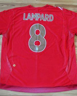 Angleterre LAMPARD #8 2006-2007-2008 – Taille XXL