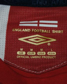 LAMPARD #8 England – 2006-2007-2008 away – Taille M