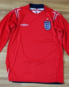 England 2004/2005/2006 away – Taille S manches longues