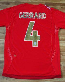 England Équipe Nationale 2006/2008 away – Taille M #4 GERRARD