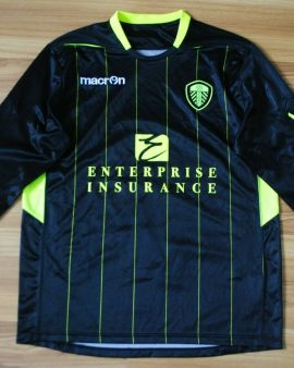 LEEDS UNITED Away 2012-2013 Macron – Taille L manches longues