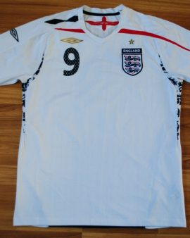 Angleterre – 2007/2009 – Taille M #9 ROONEY