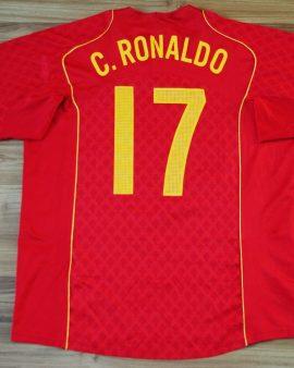 Portugal – 2004/2006 – #17 RONALDO – Taille XL