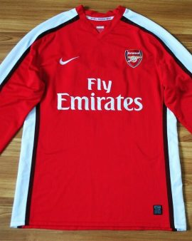 Arsenal 2008/2010 – Taille XL – Manches longues #10 version PRO