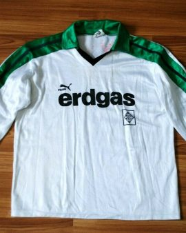 Borussia Monchengladbach – 1970/1980s – Long sleeves – Taille S/M