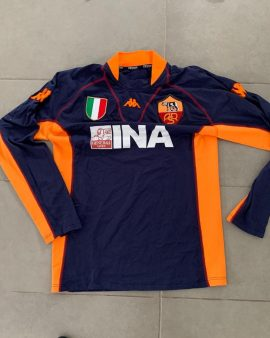AS ROMA – 2001/2002 – THIRD – Taille L – Manches longues