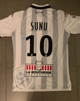 SCO Angers – #10 SUNU – Porté contre Paris