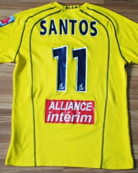 Sochaux 2004/2005 – Taille M #11 SANTOS