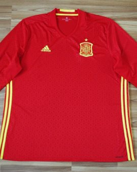 ESPAGNE 2015/2016 – Taille XXL MANCHES LONGUES