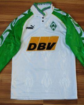 SV Werder Brême 1995-1996 MANCHES LONGUES XS #10 CARDOSO