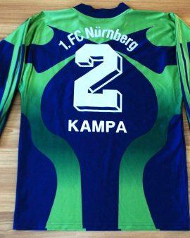FC NURNBERG – NUREMBERG – GOALKEEPER – #2 DARIUS KAMPA – Taille S VINTAGE