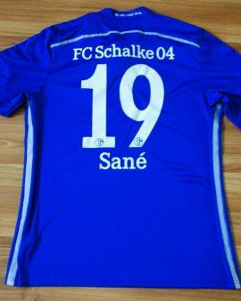 FC Schalke 04 Home 2014-2015 #19 SANE