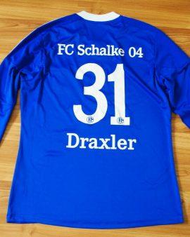 Schalke 04 #31 DRAXLER Manches longues L