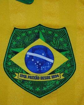 Brazil Brésil #10 Vintage Adidas Official Replica