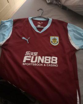 Burnley Centenary shirt