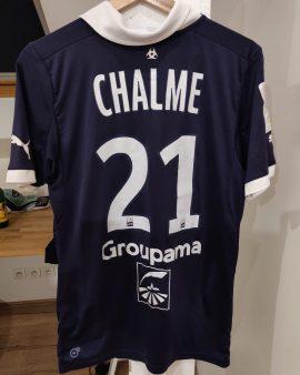 Maillot porté par Mathieu Chalmé, Girondins de Bordeaux