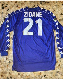 Maillot preparé/ Porté pour Zinedine Zidane