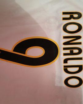 Maillot Ronaldo R9 real Madrid dedicacé