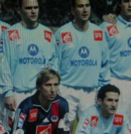 2003/04 PSG PORTE PAR ALONZO COUPE DE FRANCE