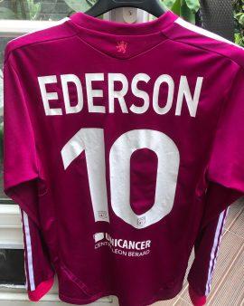 Maillot porté par EDERSON CHAMPIONS LEAGUE