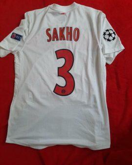 Maillot préparé pour Mamadou Sakho