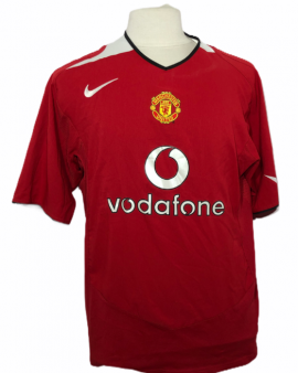 """Manchester United 2004-2005 HOME Taille """"XL"""" #7 RONALDO"""