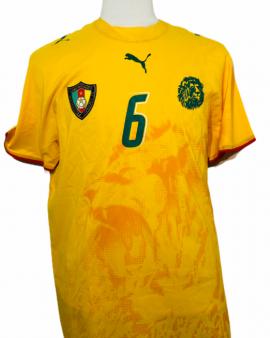"""Cameroun 2006 AWAY Taille """"XL"""" #6"""