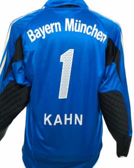 "Bayern Munich 2004-2005 Goal Taille ""M"" #1 KAHN"