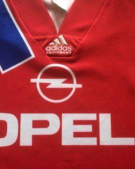 Maillot domicile Bayern Munich saison 1991-1992 ADIDAS EQUIPMENT