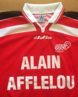 Maillot extérieur US Créteil Football saison 2000-2001 LOTTO