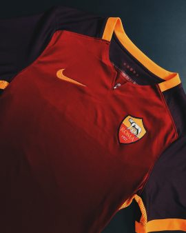 Roma 15/16 Player Issue Home Shirt