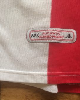 Maillot domicile Ajax Amsterdam saison 2000-2001 ADIDAS