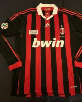 Matchworn Milan AC Ronaldinho