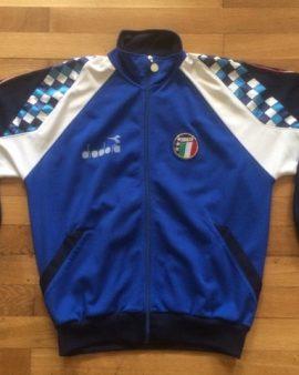 Veste survêtement équipe nationale d'Italie 1990 DIADORA