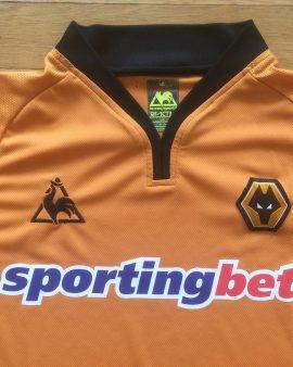 Maillot domicile Wolverhampton Wanderers saison 2007-2008 LE COQ SPORTIF