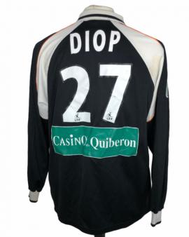 "Lorient 2002-2003 AWAY Porté Worn Taille ""XXL"" #21 DIOP"