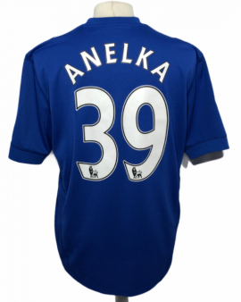 """Chelsea 2009-2010 HOME Taille """"XL"""" #39 ANELKA"""