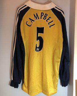Maillot Tottenham 1999/2000 floqué Campbell