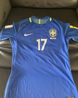Maillot porté Fernandinho Brésil