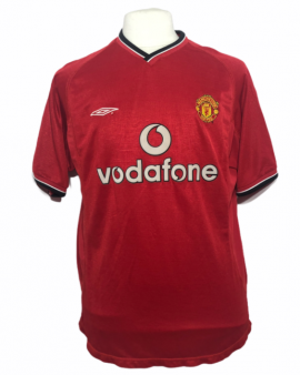 """Manchester United 2000-2001 HOME """"L"""""""